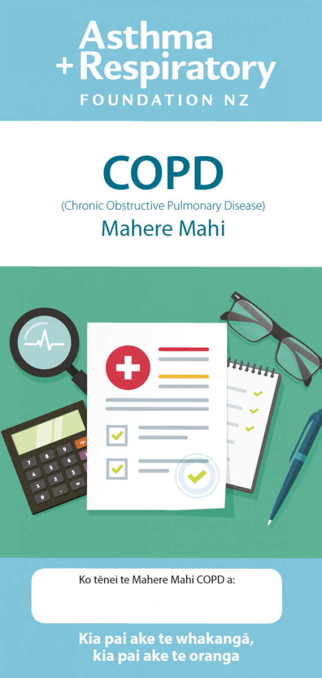 Copd Action Plan Maori
