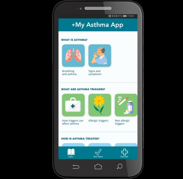 My Asthma App Brochure Image
