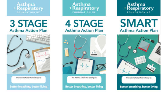 Asthma Action Plans Layout