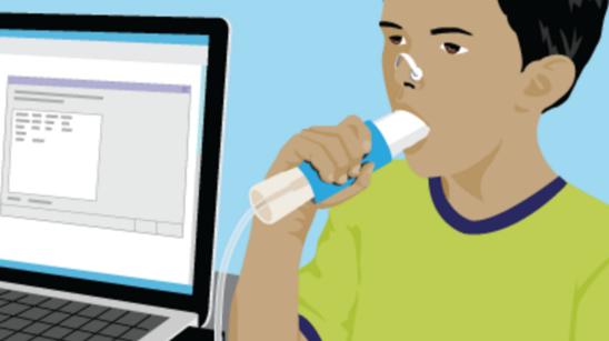 Spirometry Illustration