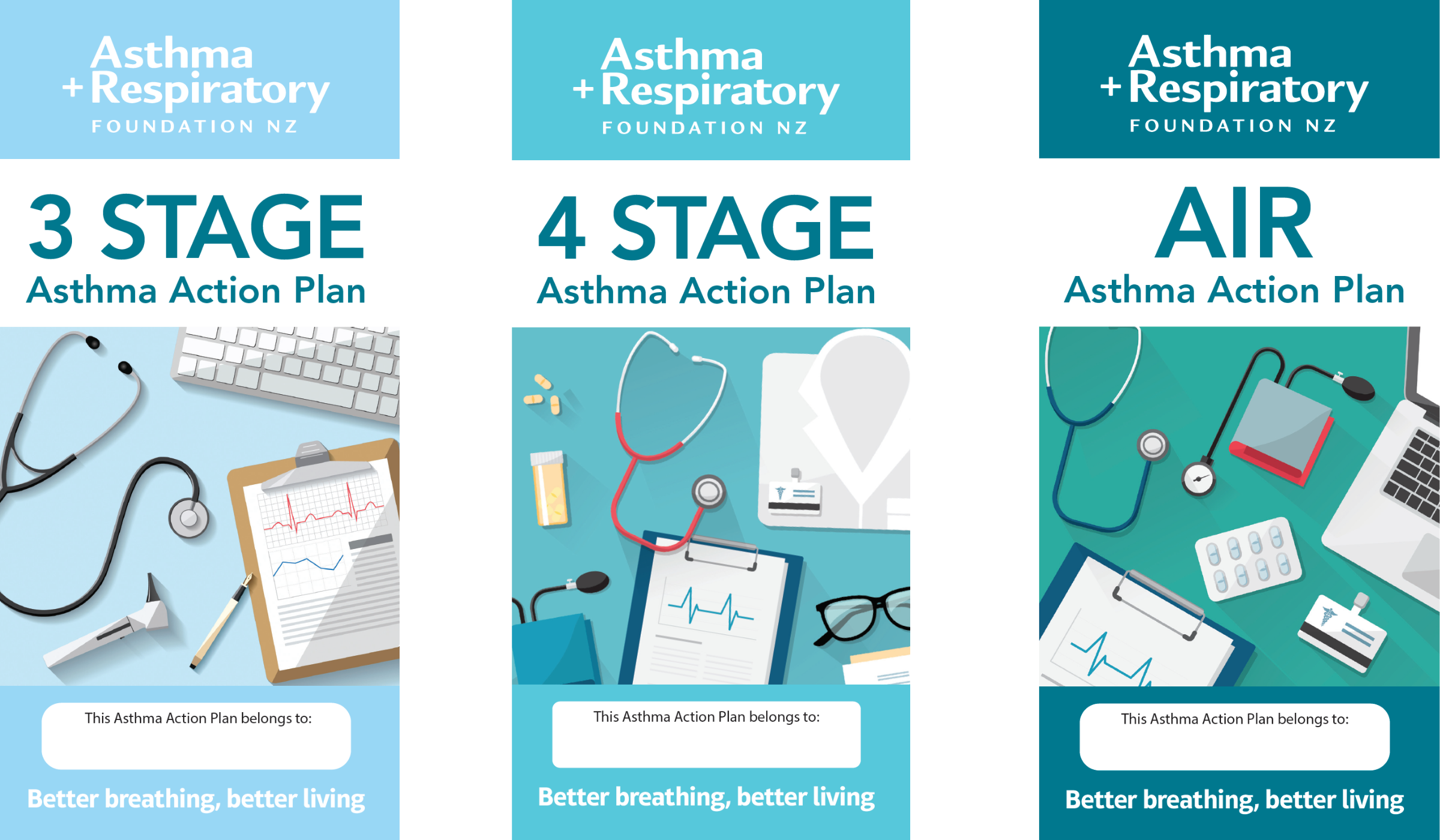 Adult Asthma Action Plans