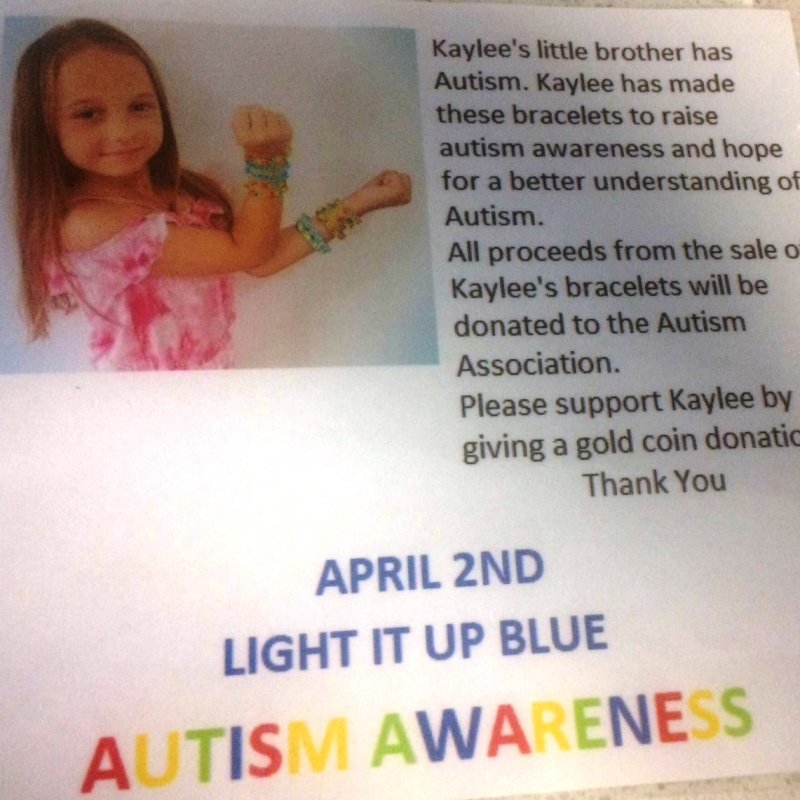 Kaylee is her Brother's Biggest Advocate!