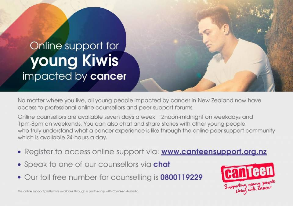 CanTeen NZ - Online Support Services NZ