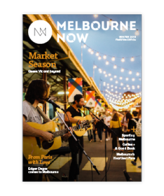 Melbourne Now Magazine Winter 2016