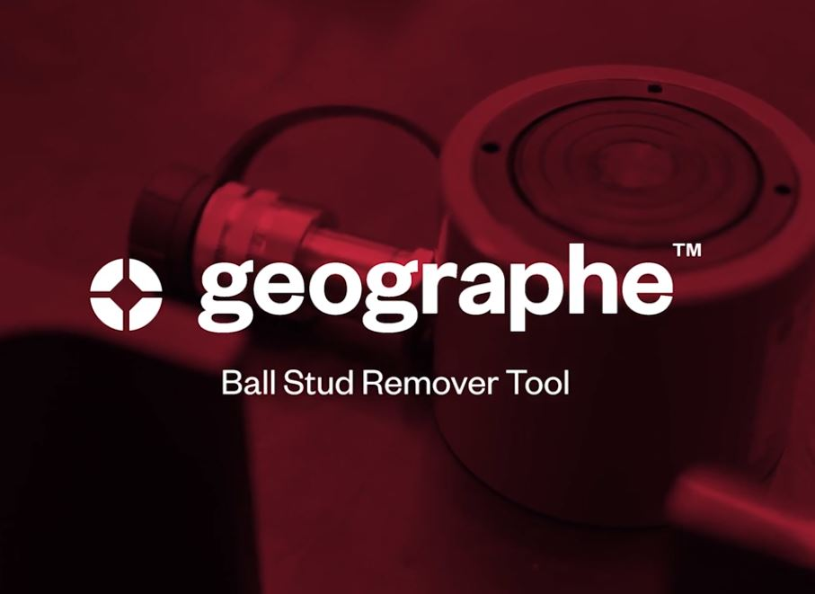 Ball stud removal tool to suit Caterpillar 789 and 793 trucks