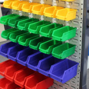 plastic parts bins(2)