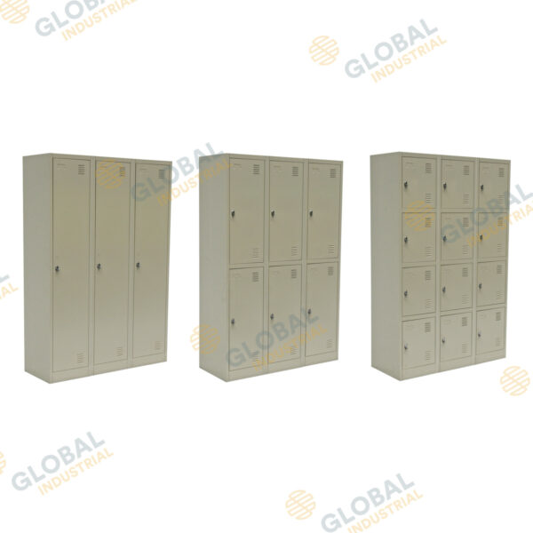 3, 6 and 12 Door lockers