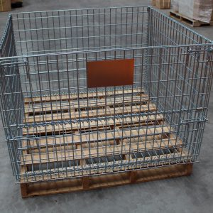 Wire Cage for Pallets