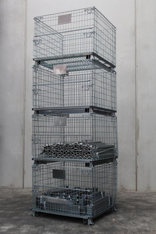 Galvanised Steel Mesh Cage Storage Cage Global