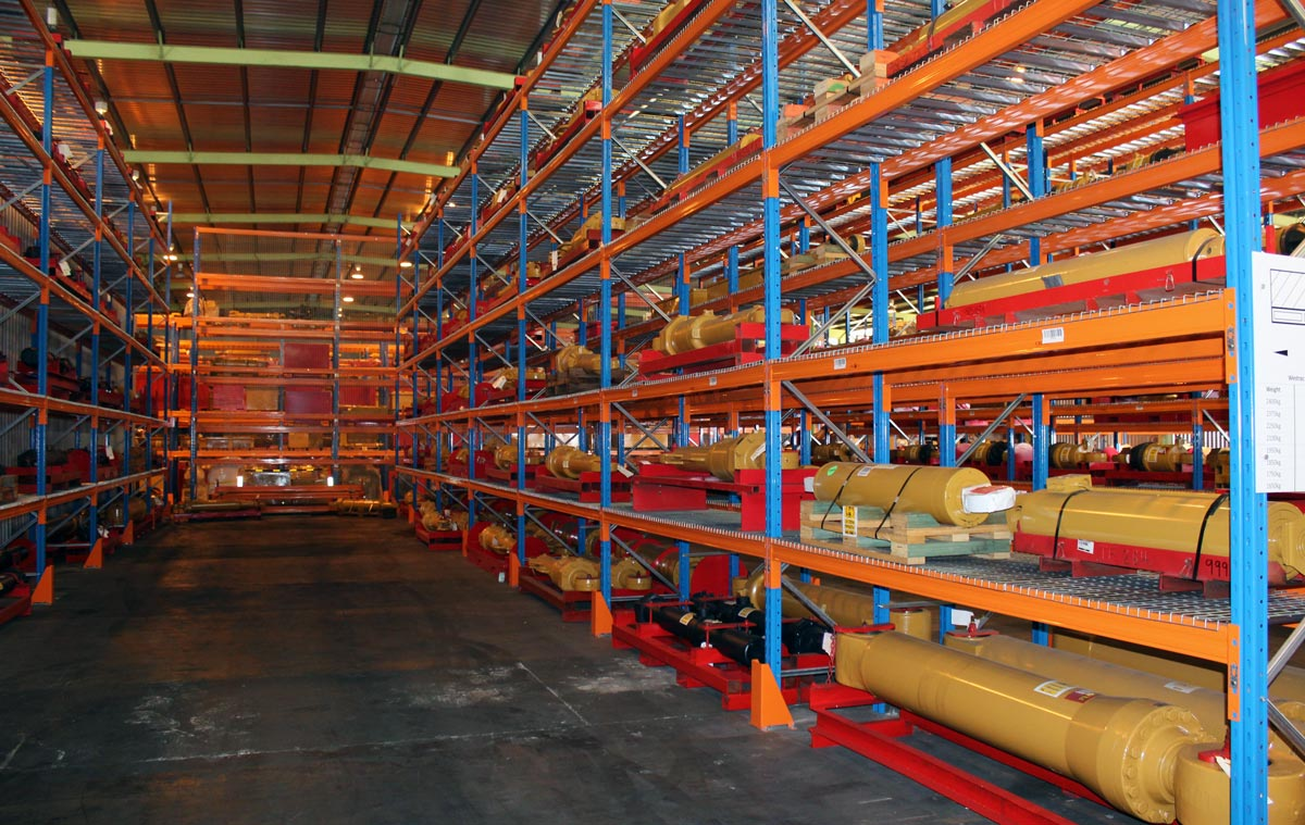 Selective Pallet Racking Example - Heavy Duty Racking