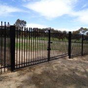 Garrison-fencing-gate
