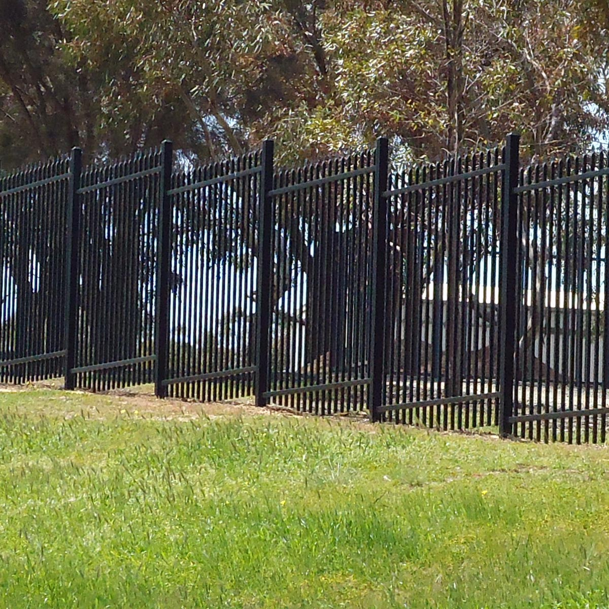 Garrison Steel Picket Fencing Secure And Affordable Fencing