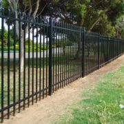 Steel-picket-garrison-fencing