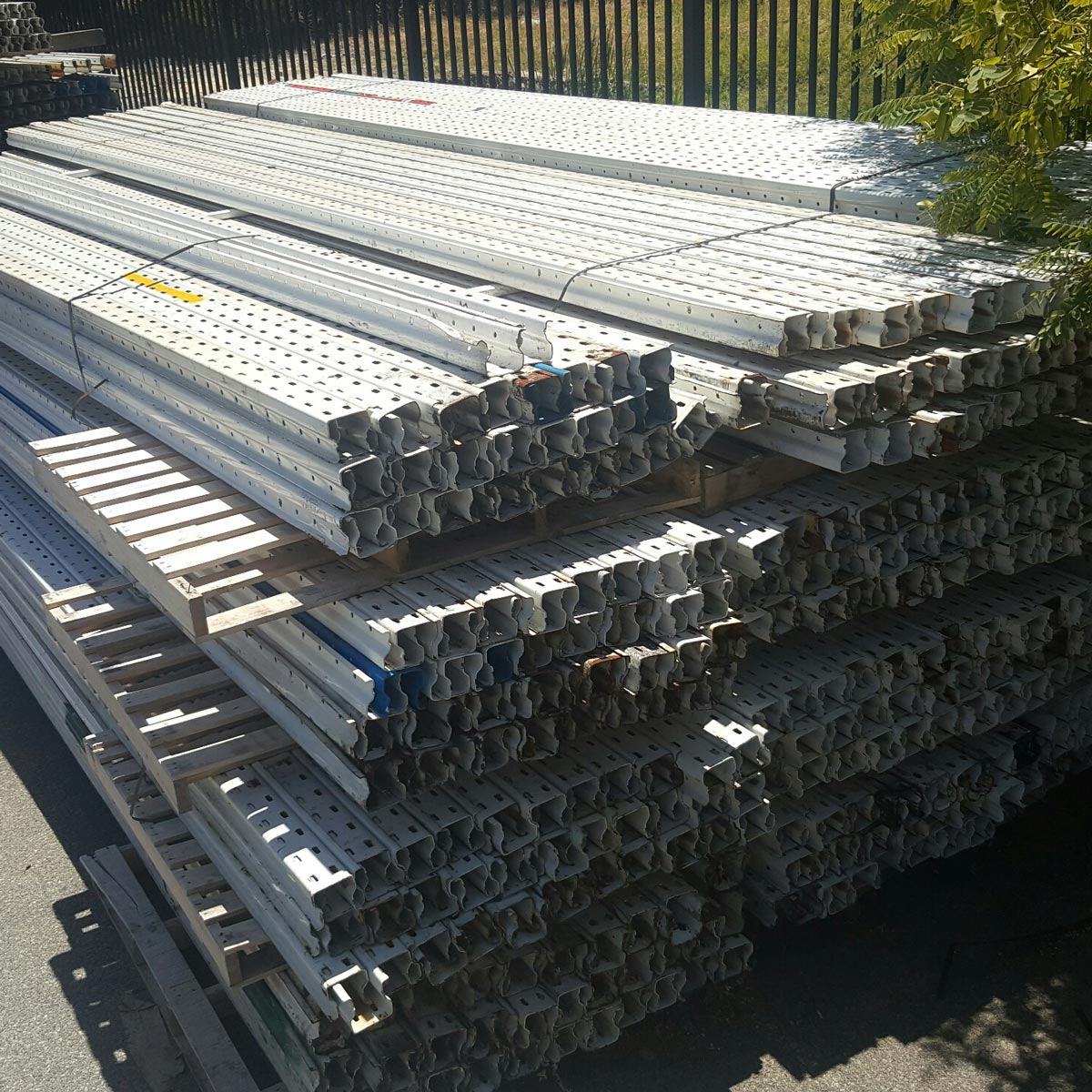 Second Hand Pallet Racking Example - Dexion Posts