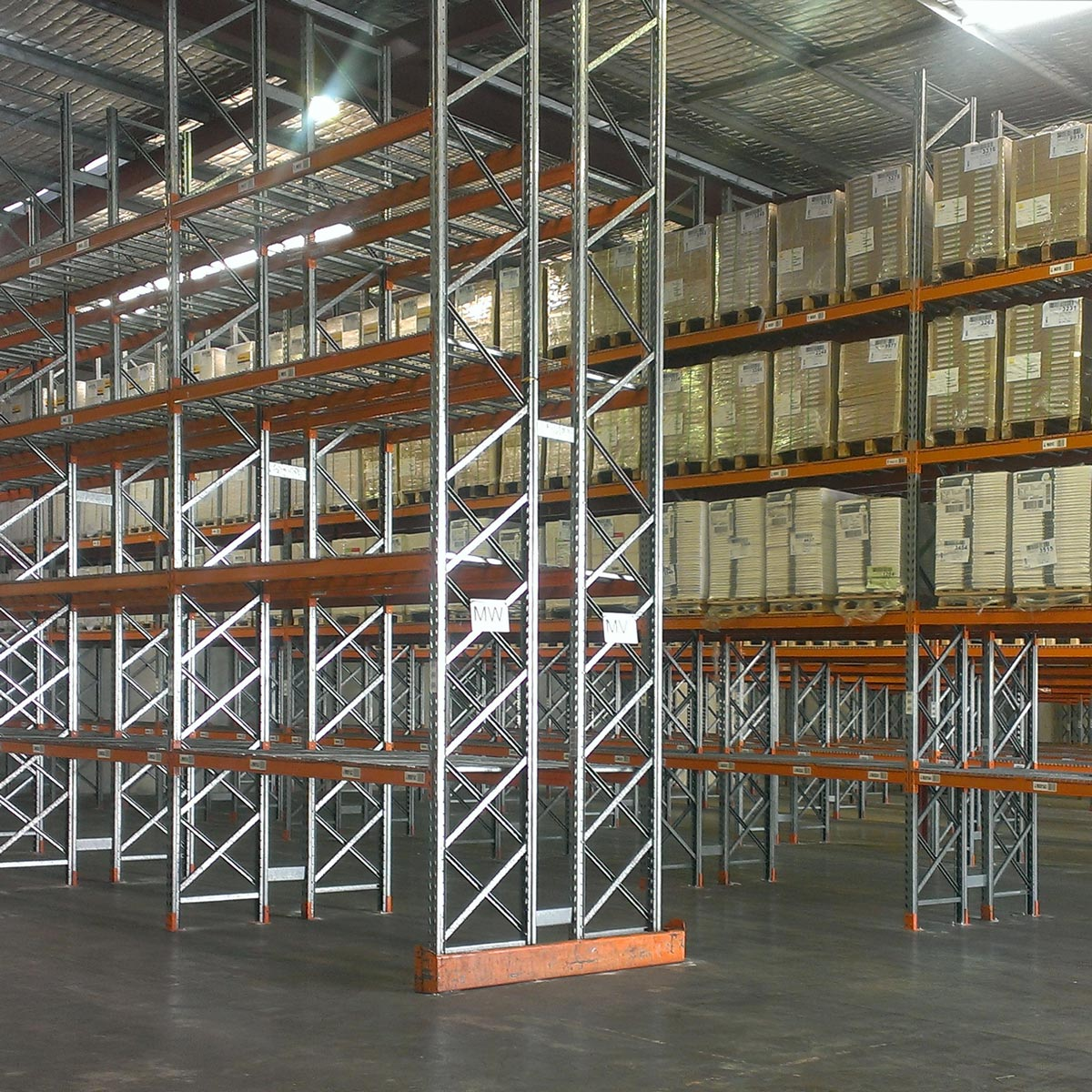 Second Hand Pallet Racking - Colby