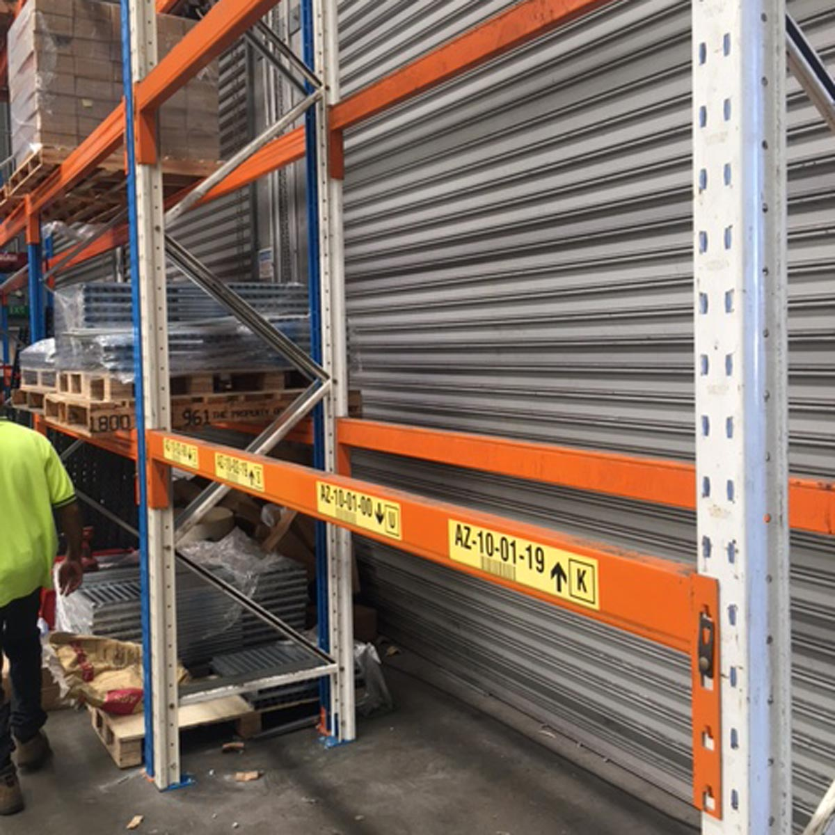 Second Hand Pallet Racking Example