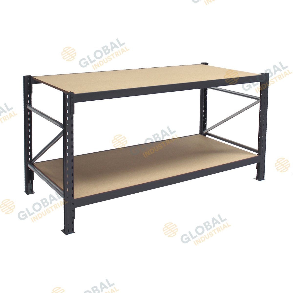 No Frills Workbench 4 Steps With Pictures: 2 Tier Longspan Workbench: Highly Customizable & Durable