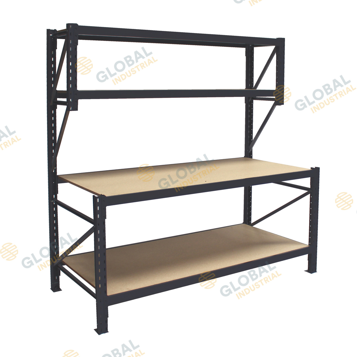 No Frills Workbench 4 Steps With Pictures: 4 Tier Longspan Workbench