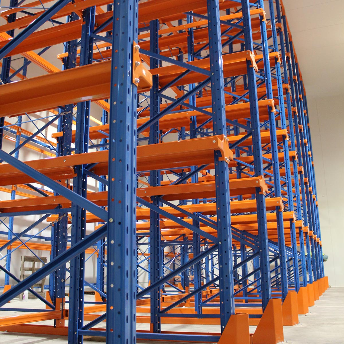 Example of Global Drive-in racking system.