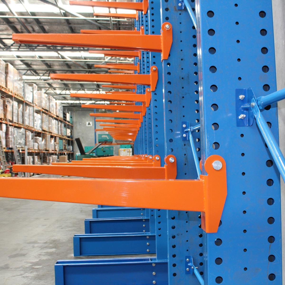 Heavy/Medium Duty Cantilever Rack Arms