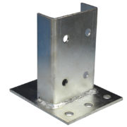 Footplate Heavy Duty (Zinc)