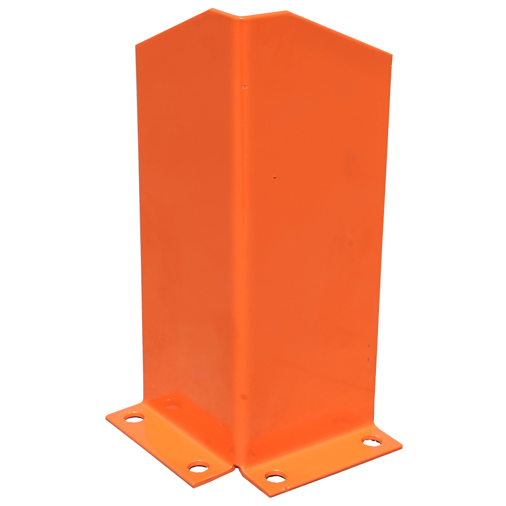 400mm post corner guard/protection in orange colour.