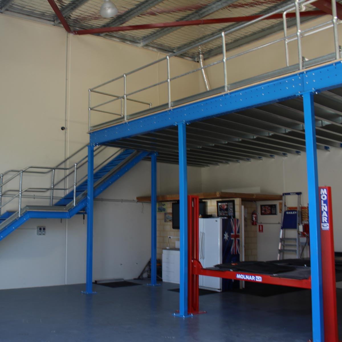 Structural Mezzanine Floors Example