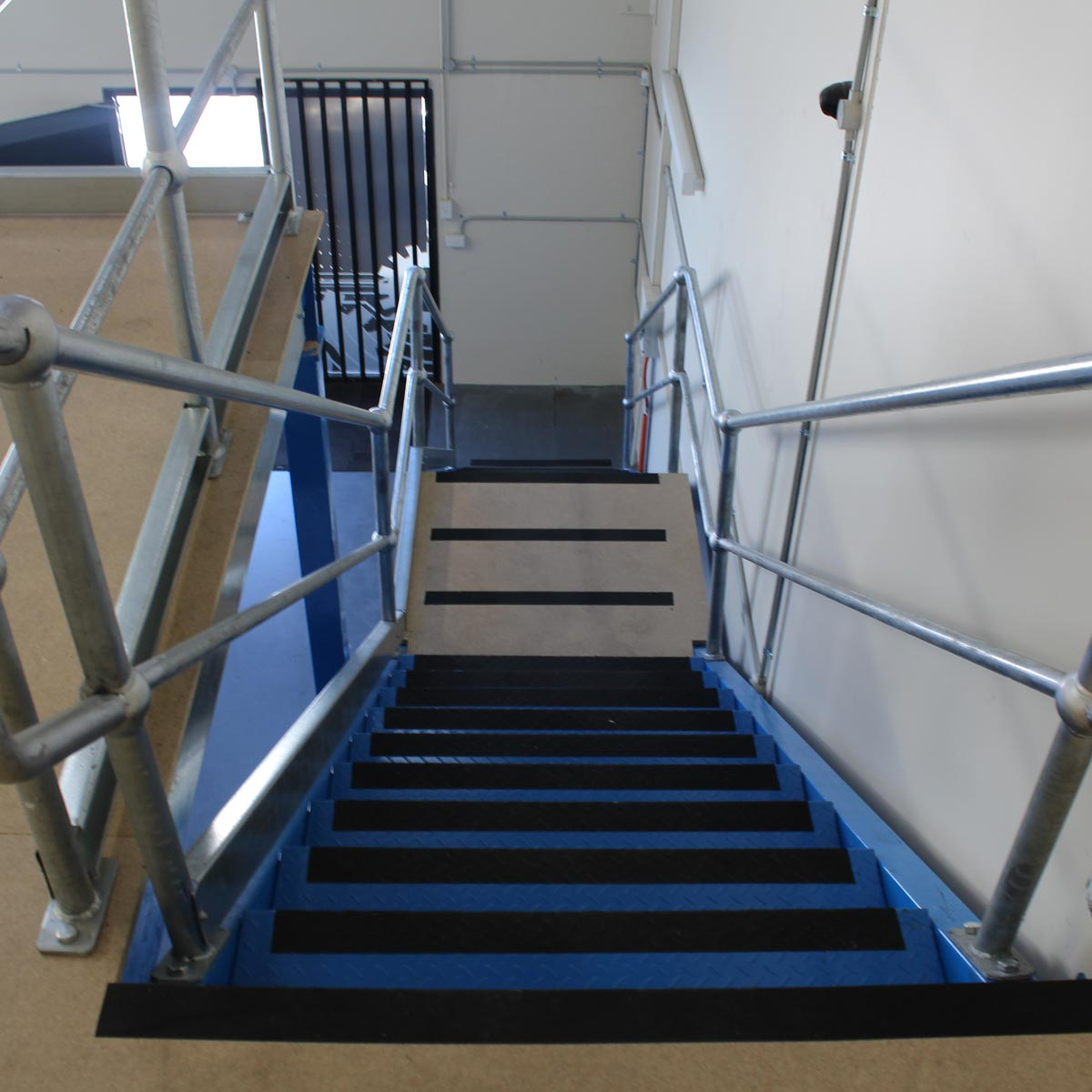 Staircase on Structural Mezzanine Floors
