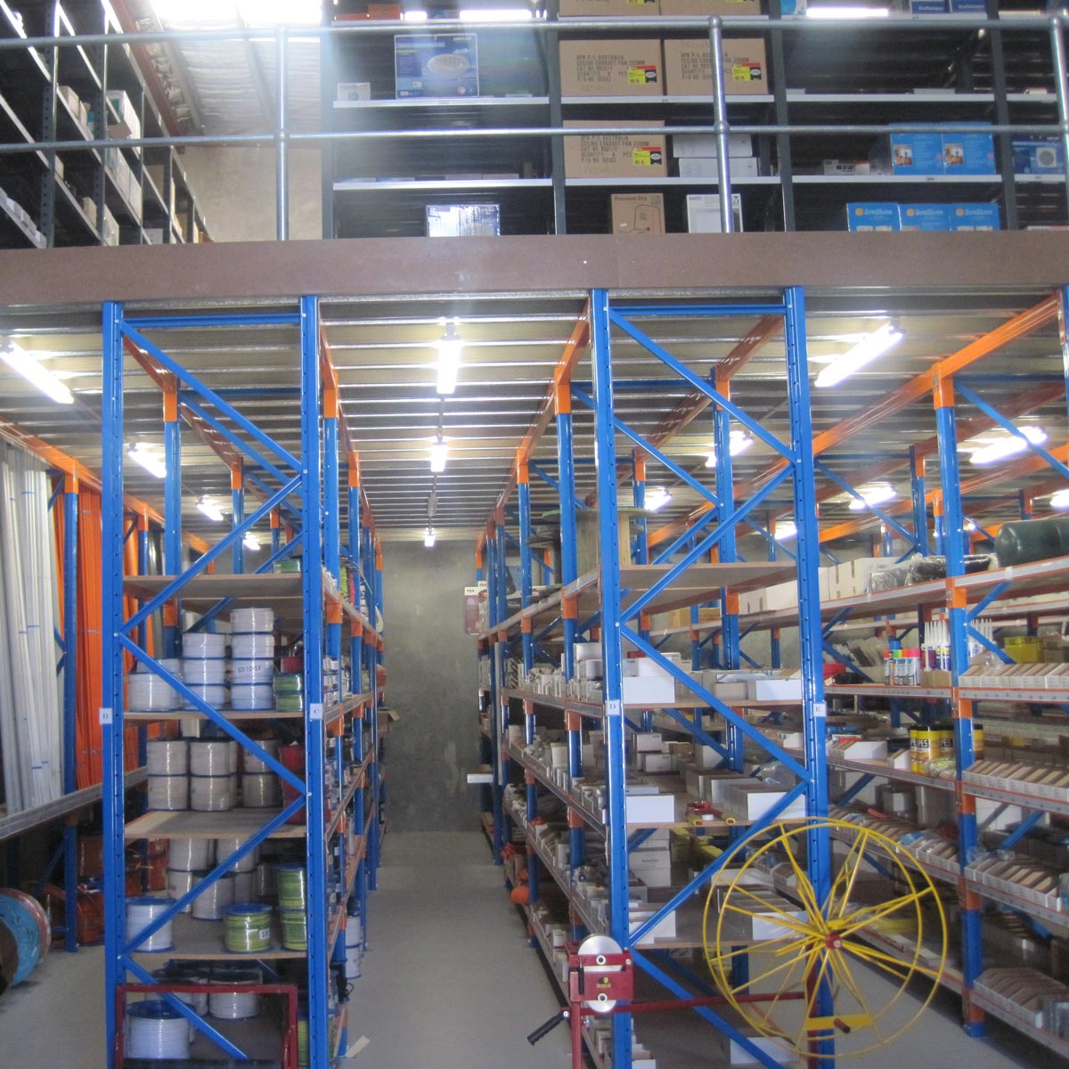 Racking Type Mezzanine Floors