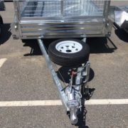TR0010-Global-Box-Trailer-Galvanised-7'x4'-with-cage-front-view