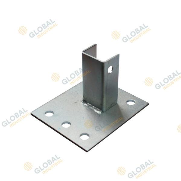 Standard Pallet Rack Footplate (Zinc)