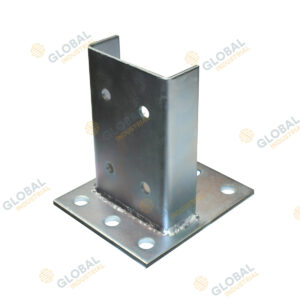 The Pallet Rack Footplate is also known as a base plate.
