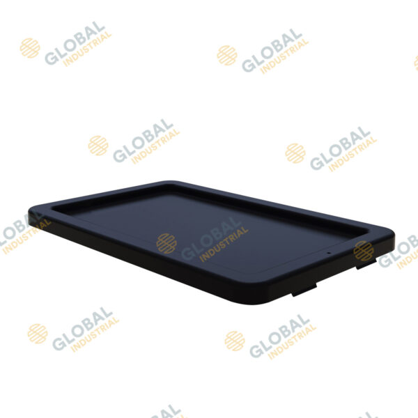 52lt Plastic Crate - Black Lid