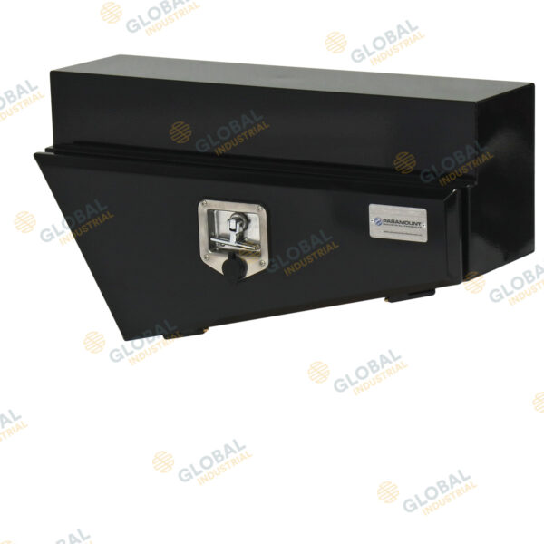 Right Black tapered underbody toolbox