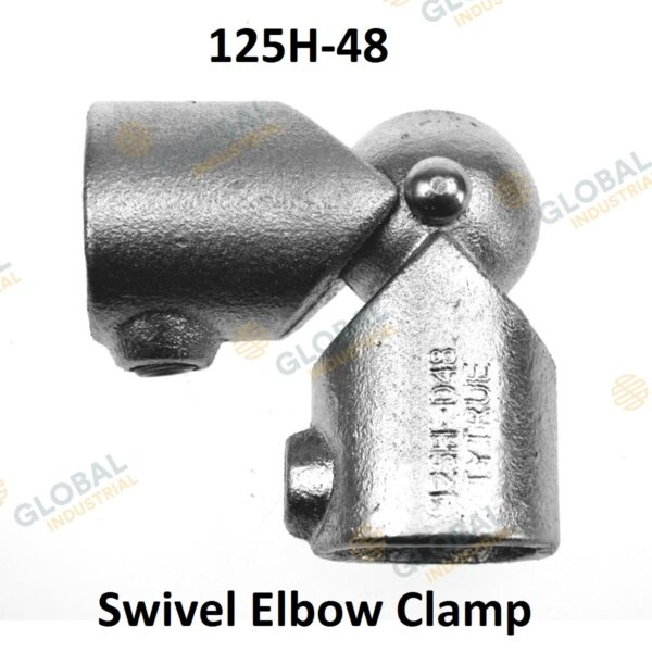 Swivel elbow clamp of Clamp Style Handrail.