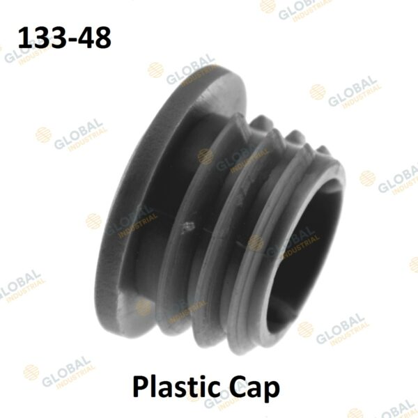 Plastic cap of Clamp Style Handrail.