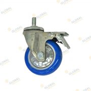 100kg swivel with full lock castor wheel