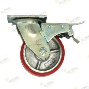 300kg swivel with full lock castor wheel