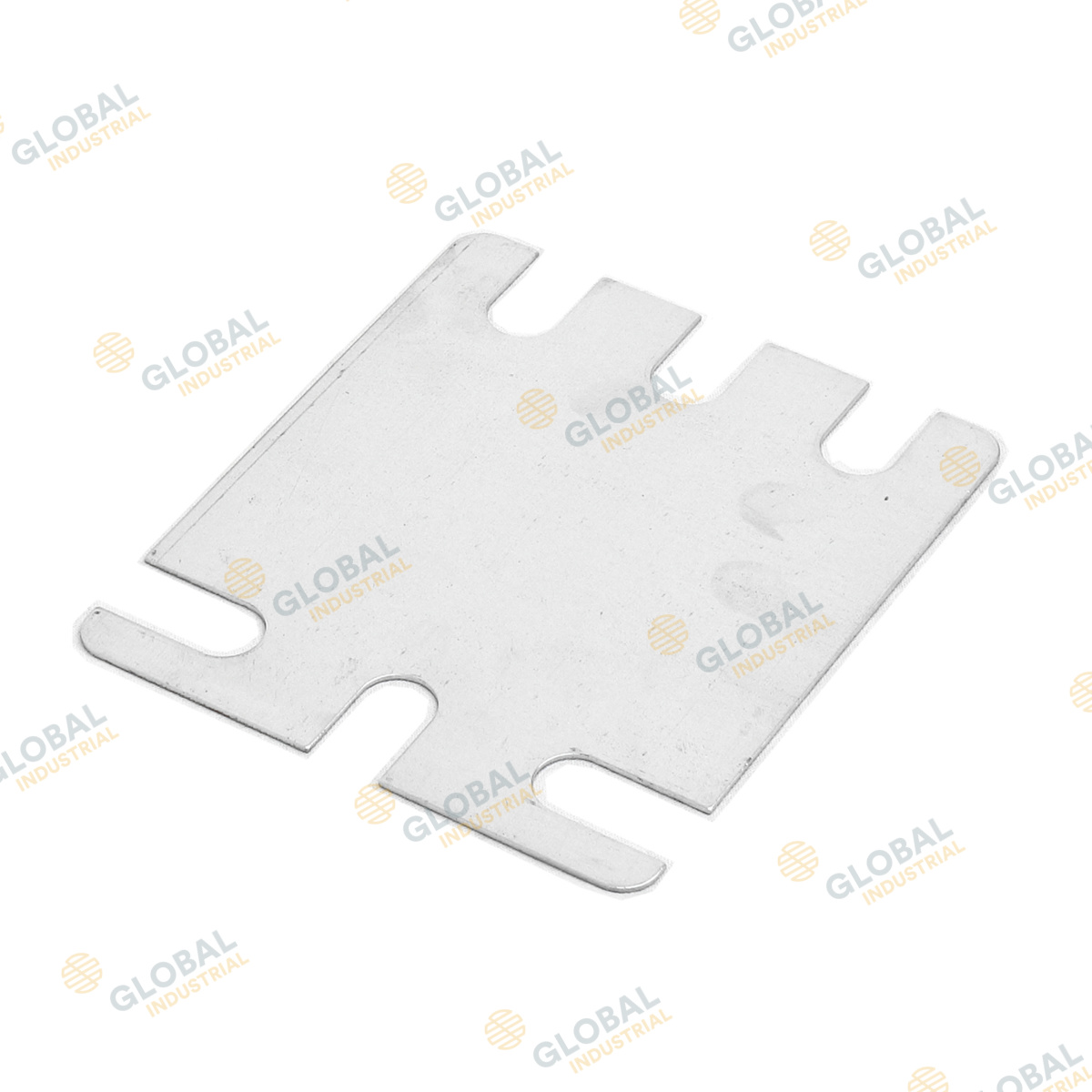 Universal shim plate for heavy duty foot plate
