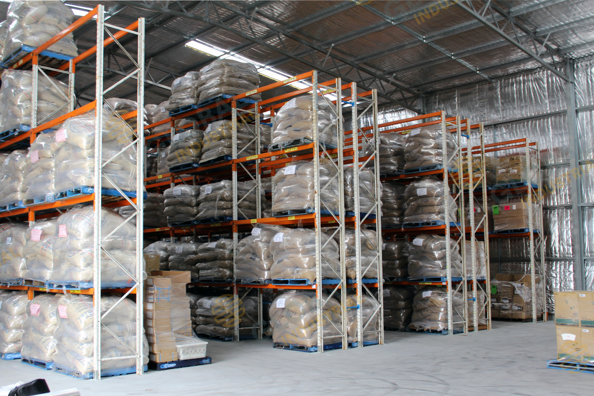 Pallet Racking for Coffee bean supplier