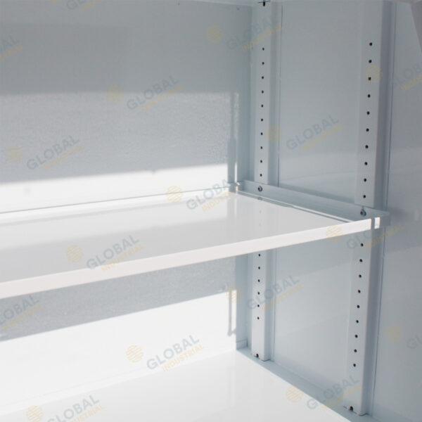 Full Lid Steel Toolbox 850mm Shelf