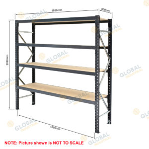 Shelving Longspan Bay