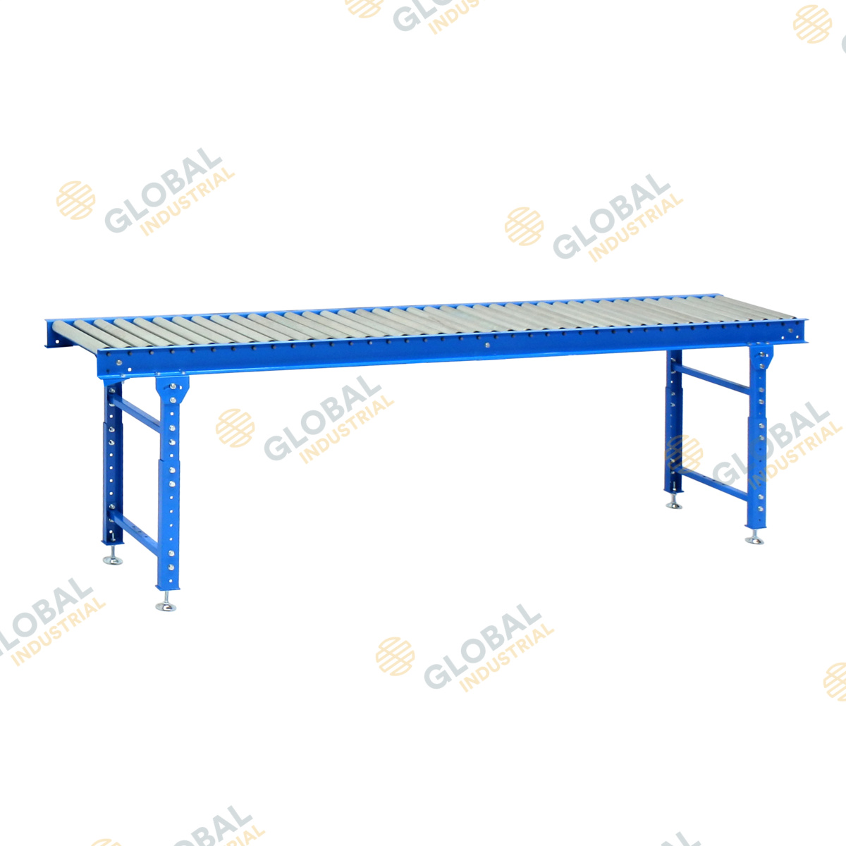 3000mm Conveyor Roller Bed with 2 legs
