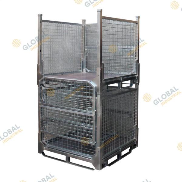 Stackable Stillage Mesh Cage