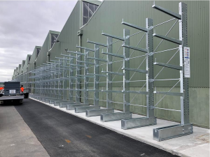 Hot Dipped Galvanised (HDG) racks options for outdoor applications.