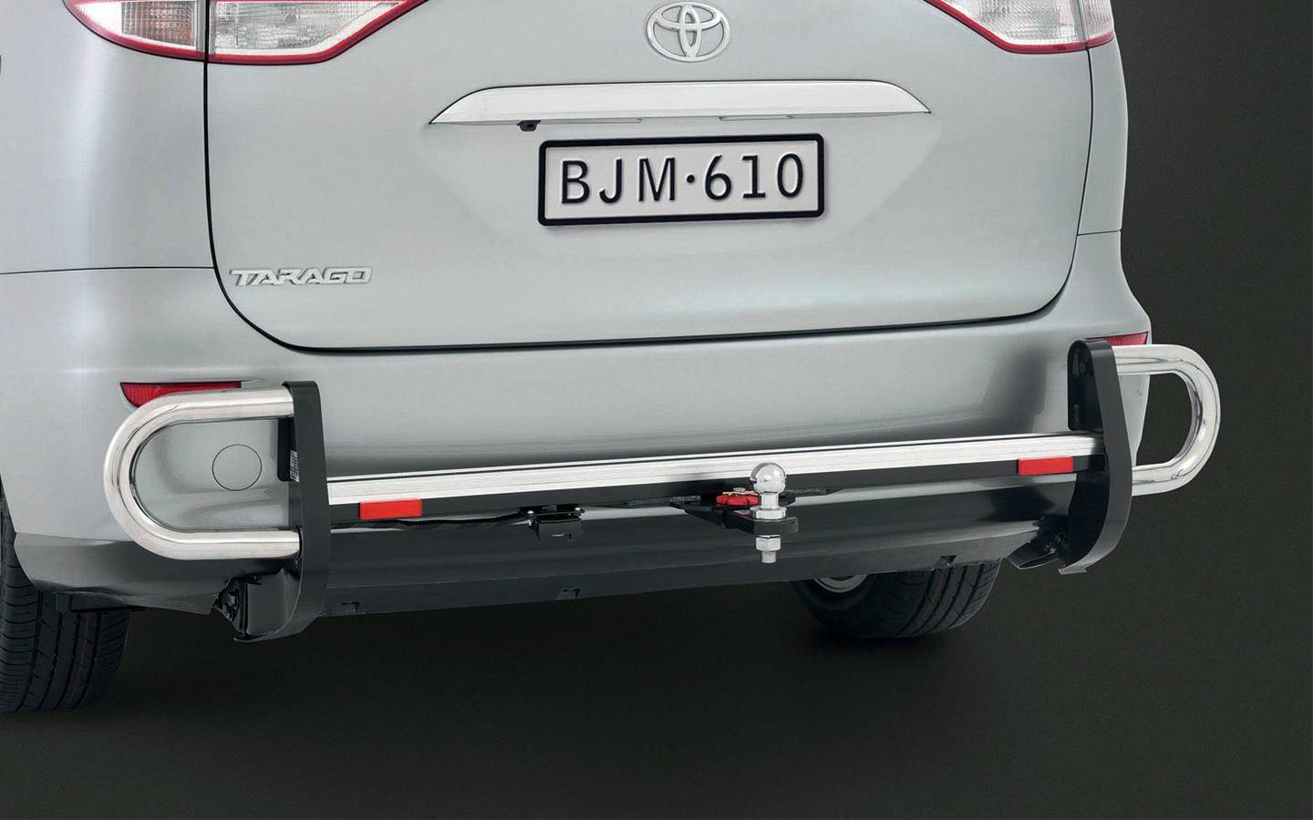 Torque Toyota Tarago Wiring Harness Trunk Tow Bar With Rear Step And Side Protector Ball Trailer