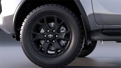 18 Alloy Wheels - Matte Black
