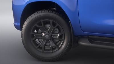 "18"" Alloy Wheels (shown in Matte Black)"