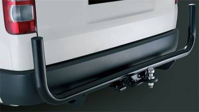 Towbar With Rear Corner Protector
