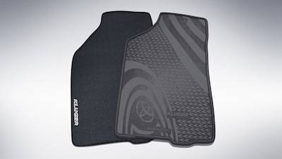 Rubber and Carpet Floor Mats